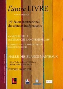 Salon de l'édition indépendante 11-13 novembre 2016
