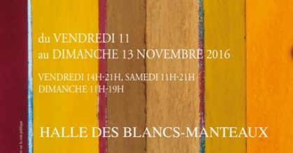 11-13 novembre : Signes et balises au Salon de l'édition indépendante à Paris