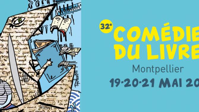Christos Chryssopoulos à la Comédie du livre de Montpellier