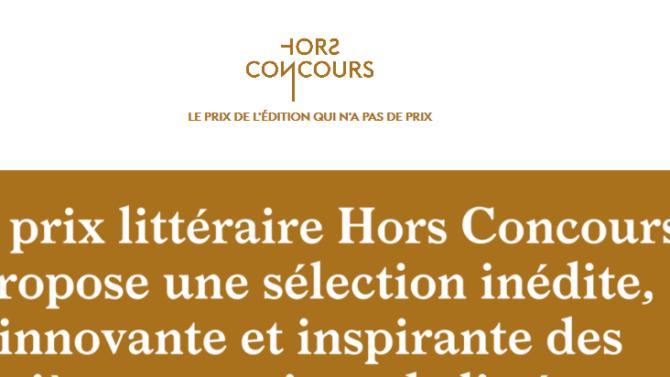 « Azimut brutal » sélectionné pour le prix Hors Concours 2019