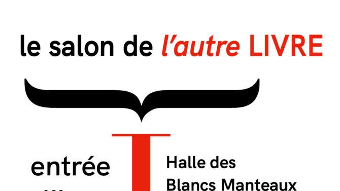 Signes et balises au salon L'Autre livre (Paris)
